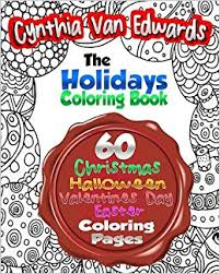amazon holiday coloring book adults