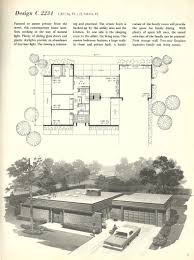in vintage house plans 1960s spanish style and mid century modern