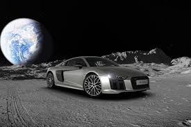 audi r8 ads i just built an audi r8 on the moon the verge