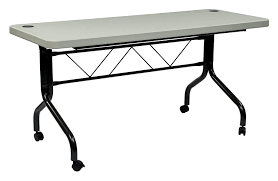 Folding Table On Wheels Amazon Com Office Star Resin Multipurpose Square Table 3 Feet