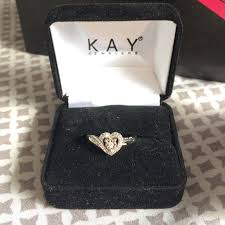 jewelry promise rings images 57 off kay jewelers jewelry 1 10 ct diamond kay heart promise jpg