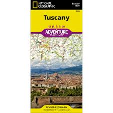 Map Of Tuscany Italy Tuscany Italy Adventure Map National Geographic Store