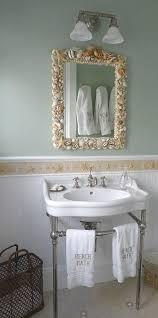 Seashell Bathroom Ideas Seashell Shower Curtain That Add Different Accent In Bathroom