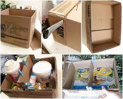 diy home decor idea shelf cardboard glue