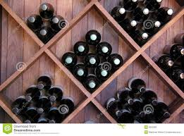diagonal wine rack stock photography image 6052682