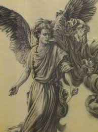 photos angels pencil painting drawings art gallery