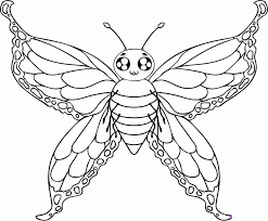 monarch butterfly coloring sheet kids coloring