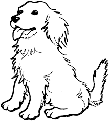 coloring page dog classic with photo of coloring page plans free