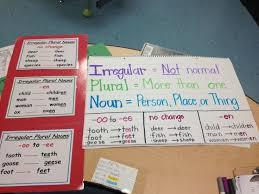 19 best irregular plural nouns images on pinterest irregular