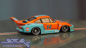 gulf car sideways slot car porsche 935 gulf 14 group 5 slotcar hc04 usa
