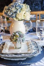 Spring Table Settings Ideas by Best 25 White Table Settings Ideas On Pinterest White Shower