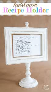 1876 best affordable diy decorating ideas images on pinterest knockoff hallmark recipe holder photo frame step by step photo tutorial