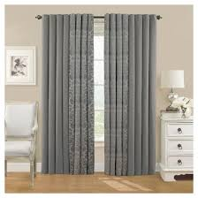 Black Out Curtain Panels Eclipse Thermalayer Nadya Blackout Curtain Panel Target