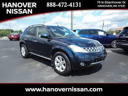 nissan murano ground clearance used 2007 nissan murano in hanover pa vin jn8az08w87w638706