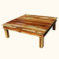 furniture oversized square pinewood coffee table why you need