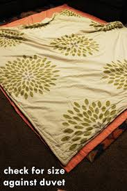 How To Sew Duvet Cover From Sheets by Diy Duvet Cover How To Easily Turn Two Flat Sheets Into A Custom