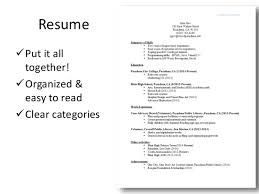 Library Resume Winsome Design How To Put A Resume Together 4 Teen Workshop