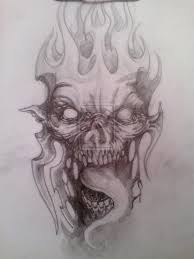 demon horror tattoo design photo 1 photo pictures and