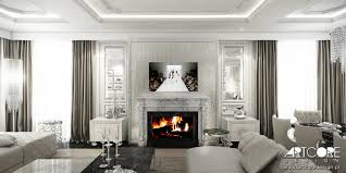 contemporary classic luxury interior design artcore design