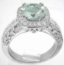 green amethyst engagement ring 8mm green amethyst diamond ring from myjewelrysource gr 2087