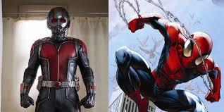 spider man ant man fit captain america civil war