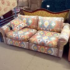 assise canape canapé motifs kilim assise plumes jobbing dépôt vente à