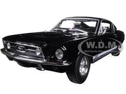 1967 Mustang Fastback Black Ford Mustang Gta Fastback Black 1 18 Diecast Model Car Maisto 31166