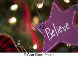 stock images of believe tree ornament glass