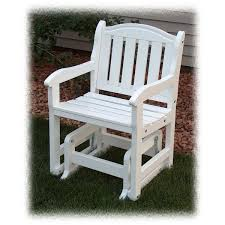 Outdoor Single Glider Chair Prairie Leisure Design Rocking Furniture