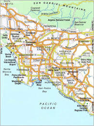 map usa los angeles maps of los angeles