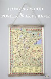 hanging canvas art without frame 18 best map gallery wall images on pinterest craft bedrooms and
