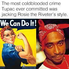 Rosie The Riveter Meme - jared lkin jayballin 4life twitter