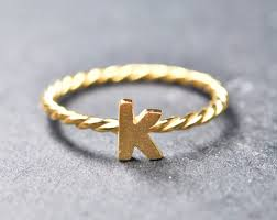 custom initial rings custom initial ring letter ring alphabet ring sterling silver