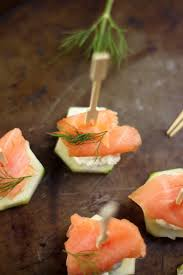 Easy Appetizers by Smoked Salmon And Cream Cheese Cucumber Bites Baker By Nature