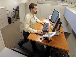 Sit Stand Treadmill Desk by Using A Treadmill Desk Can Make You Less Productive Business Insider