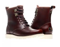 ugg boots australia mens ugg australia hannen leather s boots sneakers4u com