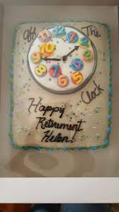 best 25 retirement cakes ideas on pinterest retirement clock