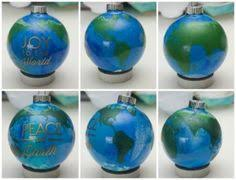 peace on earth diy ornaments peace ornament and earth