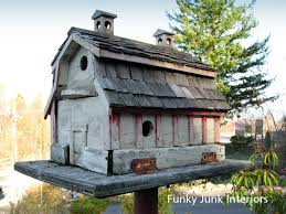 bird house using old barn wood rustic birdhouses pinterest