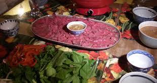 fondue vietnamienne cuisine asiatique fondue vietnamienne lẫu bò