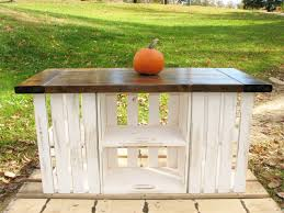 Country Kitchen Island Buy A Crafted Rustic Country Kitchen Island Made To Order