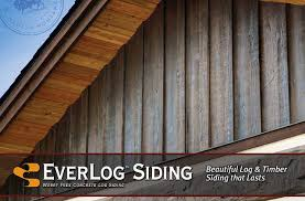 everlog concrete log siding by everlog systems