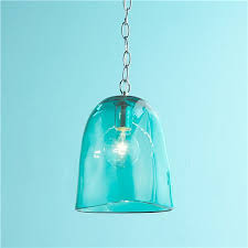 aqua glass pendant light regarding invigorate clubnoma