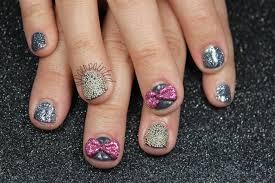caviar 3d bow nails nail art gallery