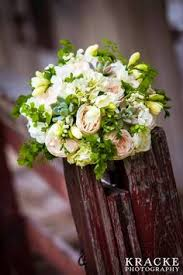 Ny Topiary - green and tangerine and lots of texture for the brides maids the