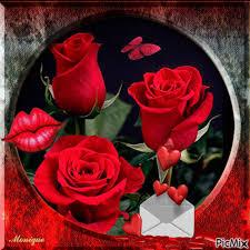imagenes de amor con rosas animadas imagen animada de rosas y corazones mis rosas favoritas