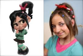 Cute At Home Hairstyles by Vanellope Von Schweetz Wreck It Ralph Hairstyles Cute Girls