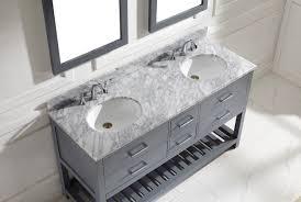 bathroom double sink vanity virtu usa caroline estate 60 double bathroom vanity set in grey