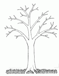 pictures welcome spring tree coloring pages for kids picture of a