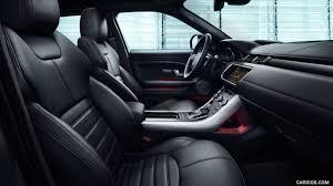 evoque land rover interior 2017 range rover evoque ember special edition interior front